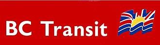 BC Transit - Pre-2000 logo