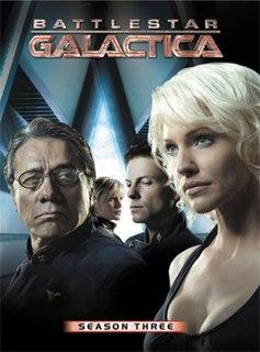 <i>Battlestar Galactica</i> (season 3) third season of the reimagined science fiction television series Battlestar Galactica