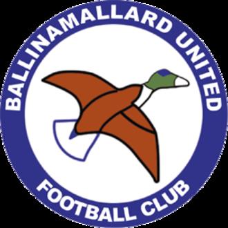 Ballinamallard United F.C. - Image: Ballinamallard United