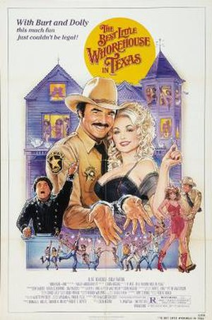 The Best Little Whorehouse in Texas (film) - Theatrical release poster
