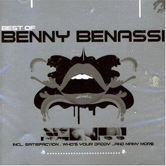 Best of Benny Benassi - Image: Best of Benny Benassi (album cover art)