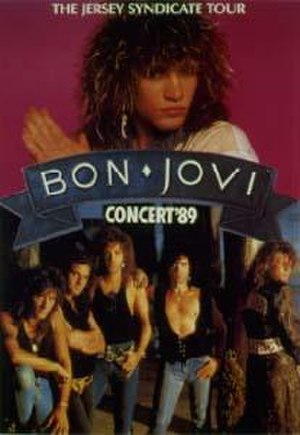 New Jersey Syndicate Tour - Image: Bon jovi new jersey syndicate tour