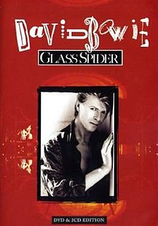 <i>Glass Spider</i> 1988 video by David Bowie