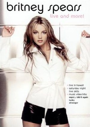 Britney Spears: Live and More! - Image: Britney Spears Live and More!