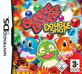 Bubble Bobble Double Shot - Cover art