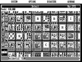 CGA 640x200 game.png SimCity in 640×200 monochrome. Note the use of dithering to simulate gray tones and non-square pixel ratio that deforms the fonts.