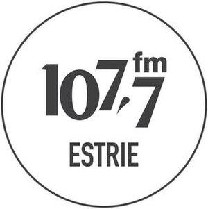 CKOY-FM - Image: CKOY 107.7fm Estrie logo