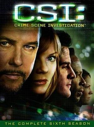CSI: Crime Scene Investigation (season 6) - Season 6 U.S. DVD cover
