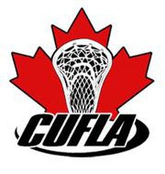 Canadian University Field Lacrosse Association - Image: CUFLA logo