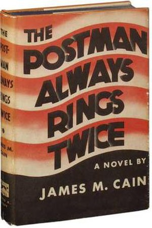 The Postman Always Rings Twice (novel) - Cover of the first edition