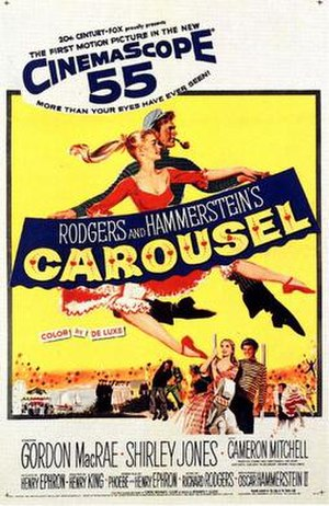 Carousel (film) - Theatrical film release poster