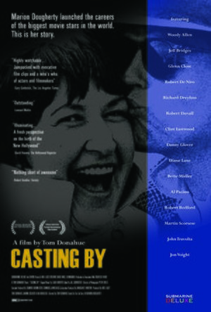 Casting By - Image: Casting By Film Theatrical One Sheet Poster