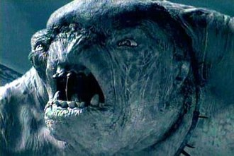 Troll (Middle-earth) - A cave-troll in The Fellowship of the Ring.