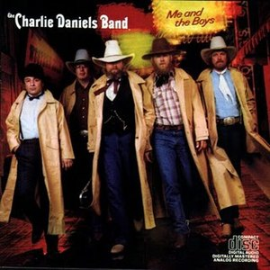 Me and the Boys (album) - Image: Charlie Daniels Band Me and the Boys