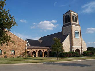 Ray Sutton - Church of the Holy Communion in North Dallas, Texas. Seat of Bishop Ray Sutton.
