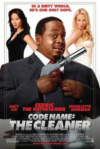 Code Name: The Cleaner - Theatrical release poster