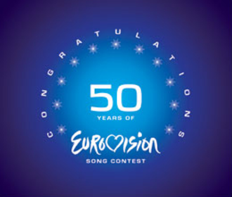 Congratulations: 50 Years of the Eurovision Song Contest - Image: Congratulation 50Yearslogo
