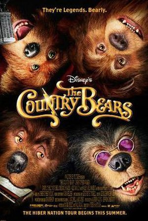 The Country Bears - Theatrical release poster