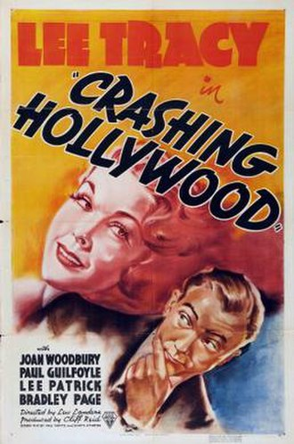 Crashing Hollywood (1938 film) - Theatrical release poster