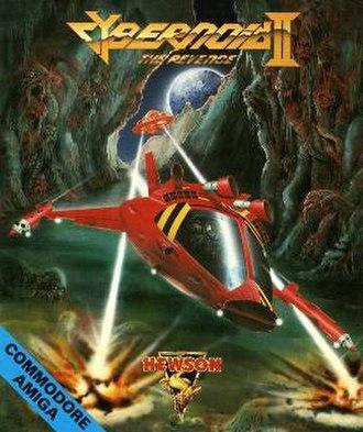 Cybernoid II: The Revenge - Cover art