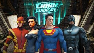 Crime Syndicate of America - The Crime Syndicate from DC Universe Online
