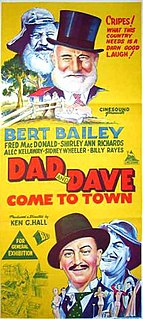 <i>Dad and Dave Come to Town</i> 1938 film by Ken G. Hall