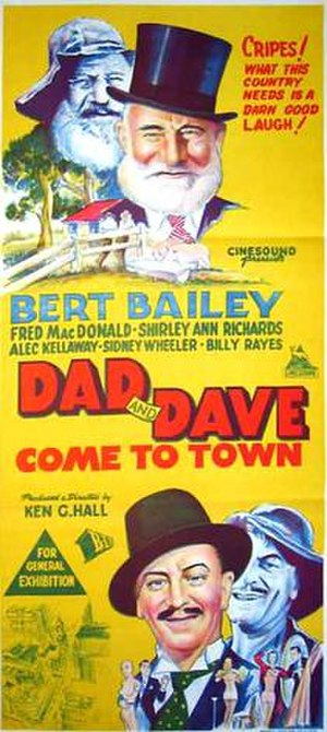 Dad and Dave Come to Town - Image: Dad And Dave Come To Townr DB 1