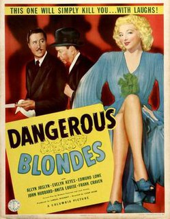 <i>Dangerous Blondes</i> 1943 film by Leigh Jason