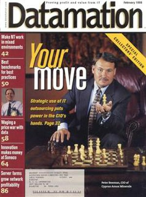 Datamation - February 1998, the final print edition of Datamation magazine
