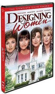 <i>Designing Women</i> (season 6) season of television series