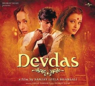 <i>Devdas</i> (soundtrack) 2002 soundtrack album by Ismail Darbar and Birju Maharaj