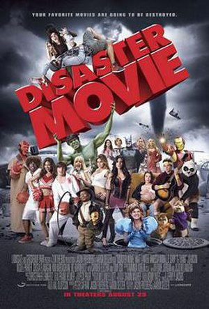 Disaster Movie - Theatrical release poster