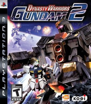 Dynasty Warriors: Gundam 2 - Image: Dynasty Warriors Gundam 2 Cover