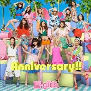 Anniversary (E-girls song) - Image: Egirlsanniversarycdo nly
