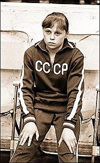 Elena Mukhina Russian artistic gymnast