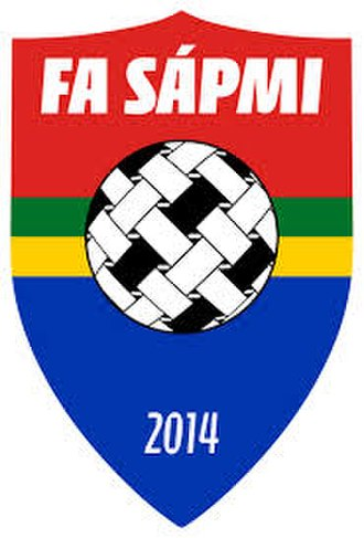 Sápmi football team - Image: FA Sapmi football association logo