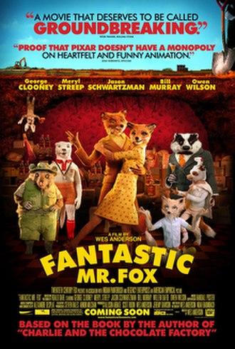 Fantastic Mr. Fox (film) - Theatrical release poster