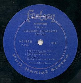 Fantasy Records - 1968 label of Creedence Clearwater Revival debut