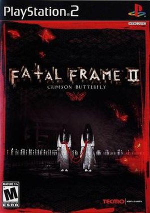 Fatal Frame II: Crimson Butterfly - North American cover art