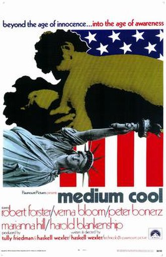 Medium Cool - Theatrical release poster