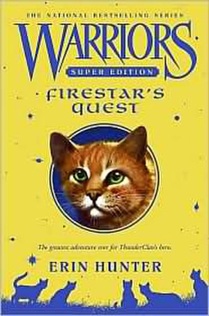 Firestar's Quest - First edition cover