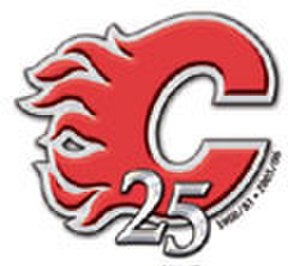 2005–06 Calgary Flames season - Calgary Flames 25th anniversary logo