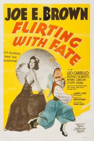 Flirting with Fate (1938 film) - Theatrical release poster