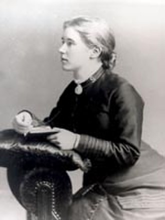 Florence Booth - A young Florence Soper in uniform