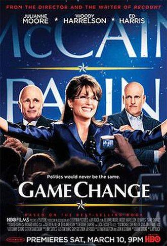 Game Change (film) - Television release poster