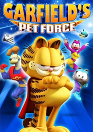Garfield's Pet Force - DVD cover