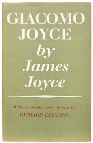 Giacomo Joyce - First edition
