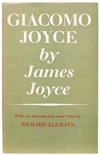 Giacomo Joyce - First edition