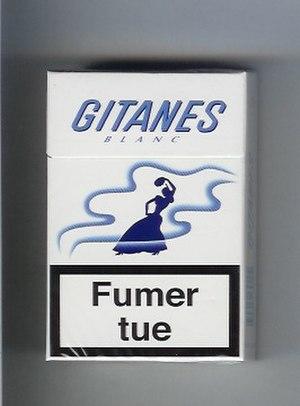 Gitanes - Image: Gitanes Blanc (Full Flavour)