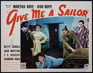 Give Me a Sailor - Theatrical release poster